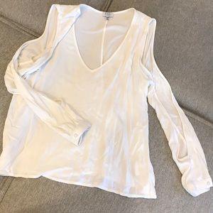 Tobi white open arm top
